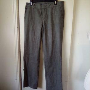 Gap straight wool gray dress pants size 8